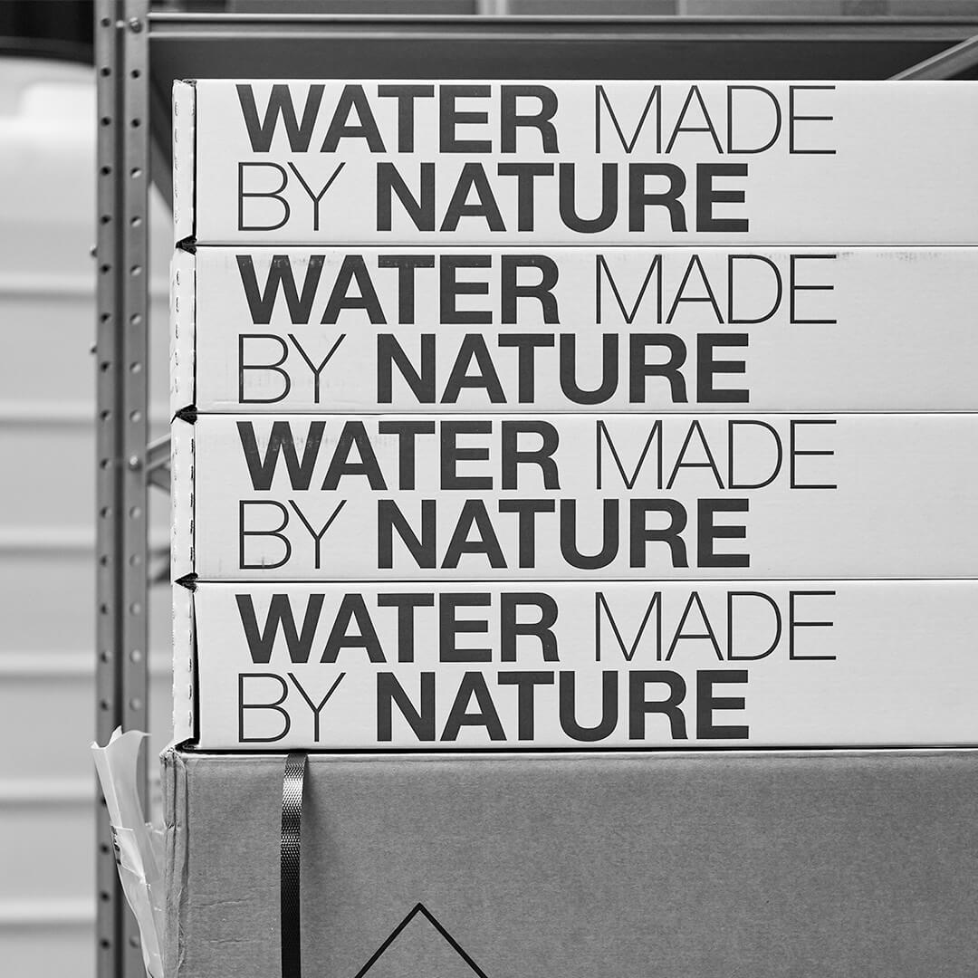 aquaporin water made by nature